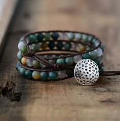 New arrival Jasper 3 Strands ... get your's and share! http://www.iitrends.com/products/jasper-3-strands-wrap-bracelets-boho-bracelet-handmade-1?utm_campaign=social_autopilot&utm_source=pin&utm_medium=pin
