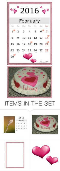 """""""February 2016 - One Day More - 29 Days! (Skuddår)"""" by ragnh-mjos ❤ liked on Polyvore featuring art, february, artset, calendar and Winter2016"""