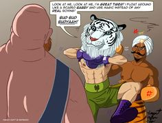 Great Tiger, Aran Ryan and Bear Hugger. Punch Out, Tumblr Posts, Joker, Comics, Anime, Bear, Fictional Characters, Comic Book, Anime Shows