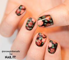 nail art, nail designs, nail art how to, nail design tutorial, flower nail art, doc marten nail art   NailIt! Magazine