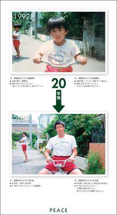 PEACE:1992年 → 2012年