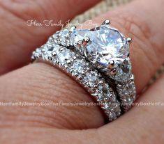 Sterling Silver Round Diamond cut Engagement Ring Wedding Set Valentine's Gift #ebay #Jewelry #Gifts #giftforher #Birthday #valentinesday #valentine #valentinesdaygift #anniversary#diamonds #Diamond #diamondjewellery #bridetobe #bridestyle #bride #bridal #jewelry #wedding #weddings #engagement #ring #rings #engagementrings