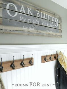 Old barn wood sign
