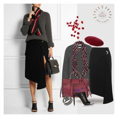 """Get The Look_18.09.2015"" by styleonskype on Polyvore featuring Balenciaga and Gucci"