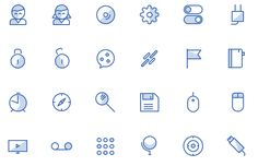 There's a million free icons around, but not all of them are good. Here are the best free icons that you might actually use in your next commercial project. Web Design Tools, Tool Design, Commercial, Free, Icons, Professional Development