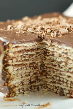 Icebox Matzoh Cake - Delish.com