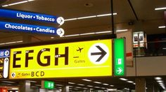 Why the Same Three Typefaces Are Used In Almost Every Airport (Gizmodo)