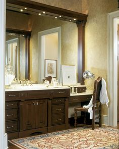 Amazing 2003 Showcase Traditional Bathroom Vanity Ideas Used Wooden Material And Marble Countertop