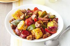 Using KRAFT Extra Virgin Olive Oil Italian Sun-Dried Tomato Dressing is a simple and quick way to enhance the flavour of grilled vegetables! Healthy Cooking, Cooking Recipes, What's Cooking, Diabetic Recipes, Beef Recipes, Yummy Recipes, Recipies, Grilling Sides, Bbq Grill