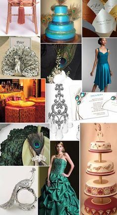 peacock_wedding_whitelacewedding http://www.marketplaceweddings.com/blog/wedding-themes/