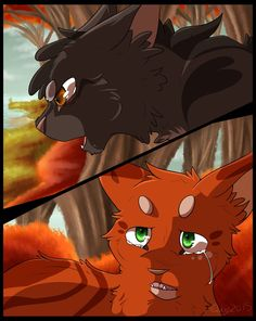 """""""You never understood, did you?"""" Bluestar went on. """"Not even when I gave you your apprentice name, Firepaw. And I doubted it myself, when fire raged through our camp. Yet I see the truth now. Fireh..."""