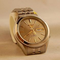 Gold Seiko 5 Automatic