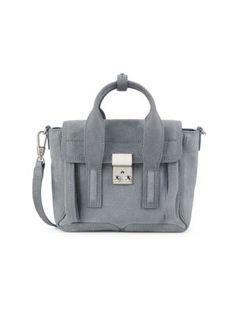$750.0. 3.1 PHILLIP LIM Shoulder Bag Mini Pashli Suede Satchel #31philliplim #shoulderbag #handbag #satchel #leather #bags 3.1 Phillip Lim, Leather Bags, Messenger Bag, 3 D, Shoulder Strap, Satchel, Zipper, Handbags, Luxury