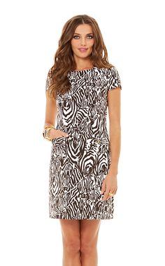 Layton Short Sleeve Shift Dress