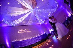 This loving couple shares a romantic first dance at Disney's Grand Floridian Resort. Photo: Amanda, Disney Fine Art Photography
