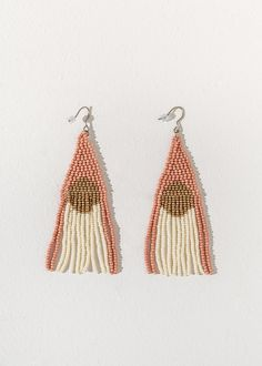 Buy Beaded Jewelry and Bead Work Jewelry Online Seed Bead Jewelry, Seed Bead Earrings, Diy Earrings, Beaded Jewelry, Handmade Jewelry, Hoop Earrings, Handmade Earings, Beaded Earrings Native, Beaded Earrings Patterns