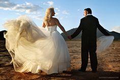 Vegas desert wedding