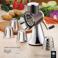 Los mejores utensilios de cocina Royal Prestige presenta a su máquina para ensaladas Royal Cutter. #ensaladas #comida #utensiliosdecocina #royalprestige