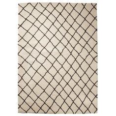 Threshold™ Criss Cross Fleece Rug - Cream : Target