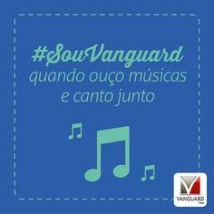 E quando vem aquela música que não sai da cabeça então?! Existe algo melhor do que música para relaxar? #SouVanguard