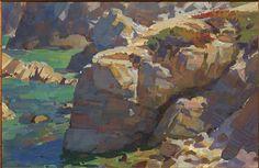Mike Hernandez   Monterey CA 6x9 gouache