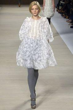 Chloé Fall 2006 Ready-to-Wear Fashion Show - Jessica Stam (IMG)