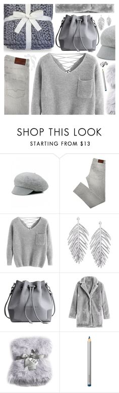 """""""Cozy Sweater Style"""" by pastelneon ❤ liked on Polyvore featuring UGG, Nicole Miller, Laura Mercier and Bobbi Brown Cosmetics"""