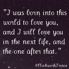 *-* I'll never get over these books Clockwork Prince