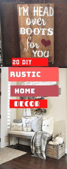 Brilliant Rustic Home Design #rustichomedesign #diyrustic Rustic Home Design, Diy Rustic Decor, Rustic Theme, Diy Home Decor, House Design, Decoration, Simple, Top, Inspiration