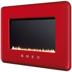 Smeg flueless gas fires available in portrait and landscape versions for natural gas or LPG. Innovative Smeg fires are energy efficient utilising a unique catalytic converter. Choose Linea, Classic or retro style models with interchangable Furniture Styles, New Furniture, Flueless Gas Fires, Smeg Kitchen, Gas Energy, Etch A Sketch, Gas Fireplace, Fireplaces, Tiny Spaces