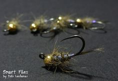 Hare\'s UV Pearl Jig Nymph