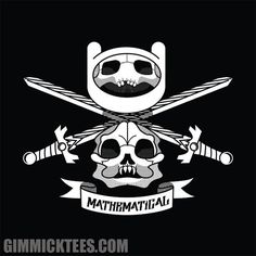 MATHEMATICAL | Adventure Time tee from Gimmick Tees