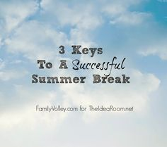 Heather Johnson shares some great tips for Surviving Summer with the Kids | theidearoom.net
