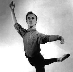 Geelong Ballet Centre's Founding Director Yorkshire born Peter Dickinson - former male danseur with Royal Shakespeare, Sadlers Wells Ballet, Walter Gote Ballet & Borovansky Ballet