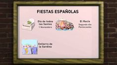 En esta lección encontrarás algunas de las fiestas más importantes de España. Teaching Culture, Ap Spanish, Teaching Spanish, Holiday Traditions, Youtube, Videos, 1, History, World
