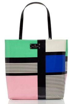 Mondrian Shopper // Kate Spade