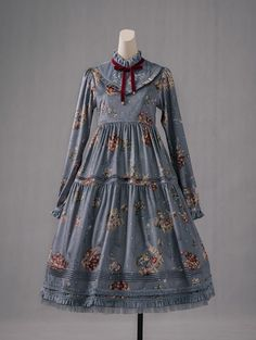 Cherry Bomb -The Four Seasons- Classic Lolita OP Dress Printed Version