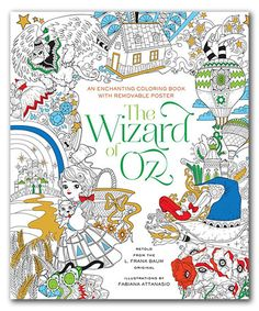 Loving This The Wizard Of Oz Coloring Book On Zulily Zulilyfinds