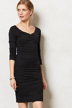 Ruched Column Dress