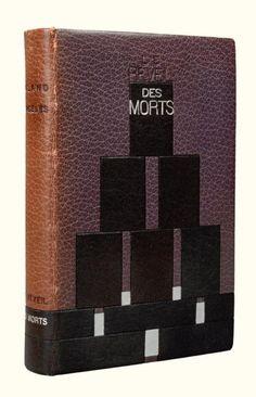 [RELIURE DE LEGRAIN] - DORGELES, Roland - Le Réveil des morts. Roman. Paris, Albin Michel, 1923. In-12, 311 pp., (2) ff.,