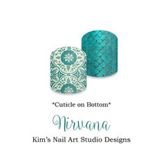 "Nirvana:  If you want to get these beauties of your fingers and toes, head on over to my Jamberry Nail Art Studio Marketplace!  Simply click on the image above and it will direct you right to the listing!  To see more of my designs and some special sales, join my Facebook group ""Kim's Nail Art Studio Designs"" at www.facebook.com/groups/925106354278688 Thanks for the interest in my designs!"