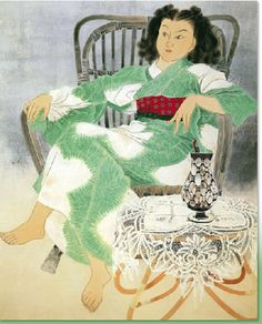 Ogura Yuki, Daughter「娘」, 1951