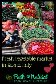 Here we offer some fresh ideas to eat healthy and nutritious foods. check us out. Real Food Recipes, Healthy Recipes, Food Artists, Cook At Home, Easy Food To Make, Health Foods, Rome Italy, Fresh Vegetables, Nutritious Meals