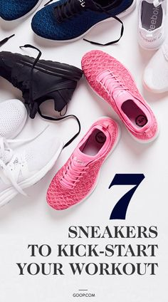 7 of our favorite sneakers to kick-start your workouts. Workout Gear, Workouts, 2 Best Friends, Tracy Anderson, Marathon Runners, Gym Rat, Stay Fit, Athleisure, Athlete