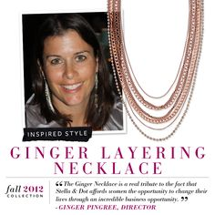 Stella & Dot StyleWatch « Ginger Layering Necklace < www.stelladot.com/kateboutique