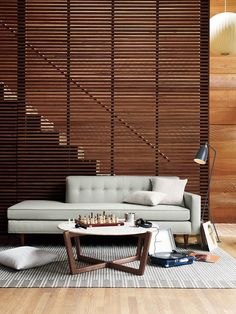 Modern Living Room Design Ideas from DWR  (via justthedesign:)