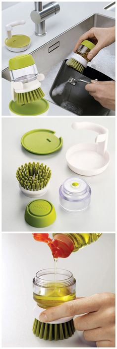2 In 1 Cleaning Brush,coupon code :Happyday07,10% off . #gadgets #discount