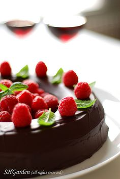 chocolate ring cake