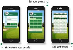 Golf Score - best score keeping app for automatic stableford points calculation Golf Scorecard, Golf Betting, Golf Cart Parts, Golf Apps, Golf Pride Grips, Golf Simulators, Public Golf Courses, Golf Channel, Scores