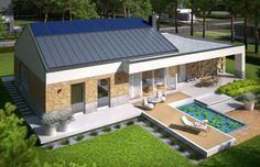#energysaving Ex 11 G2 to dom zaprojektowany z myślą o wielbicielach nowoczesnego designu i niestandardowych rozwiązań architektonicznych.